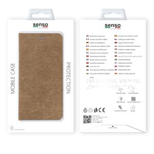 SENFEIP11PMG_SENSO FEEL STAND BOOK IPHONE11 PRO MAX (6.5)  gold