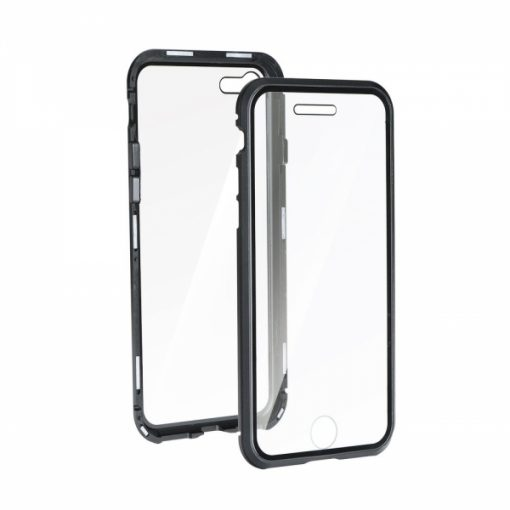 SENMETIP11PM_SENSO METAL 360 CASE IPHONE 11 PRO MAX black front & backcover