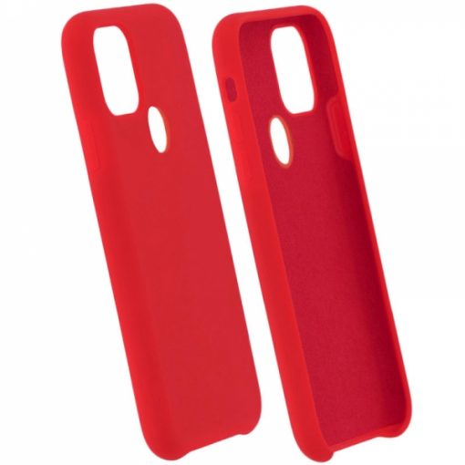 SENSMPIP11PR_SENSO SMOOTH IPHONE 11 PRO (5.8) red backcover (with hole)