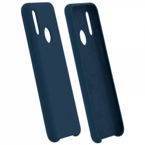 SENSMPIPXSMBL_SENSO SMOOTH IPHONE XS MAX blue backcover (with hole)