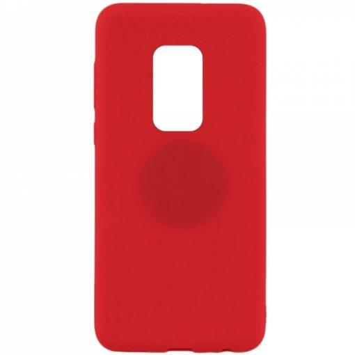 SERHM20PR_SENSO RUBBER HUAWEI MATE 20 PRO red backcover