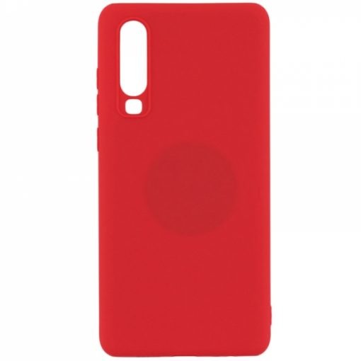 SERHP30R_SENSO RUBBER HUAWEI P30 red backcover