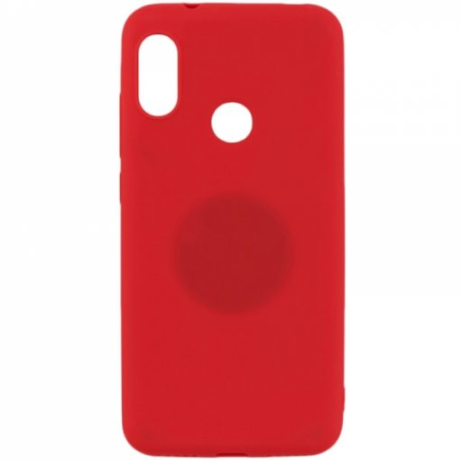 SERHY919R_SENSO RUBBER HUAWEI Y9 2019 red backcover