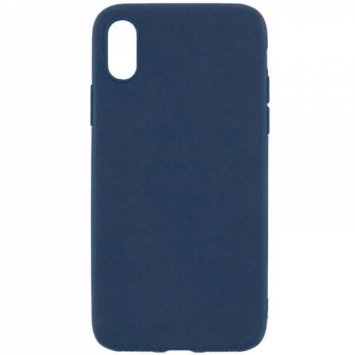 SERIPXSMBL_SENSO RUBBER IPHONE XS MAX blue backcover
