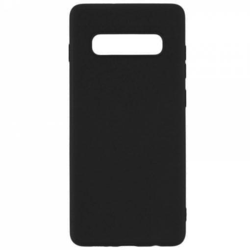 SERSAMS10B_SENSO RUBBER SAMSUNG S10 black backcover