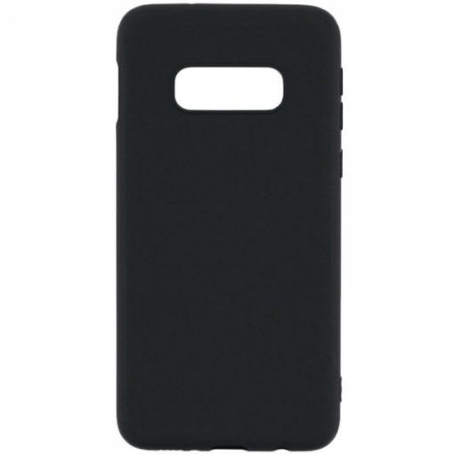SERSAMS10LB_SENSO RUBBER SAMSUNG S10e black backcover