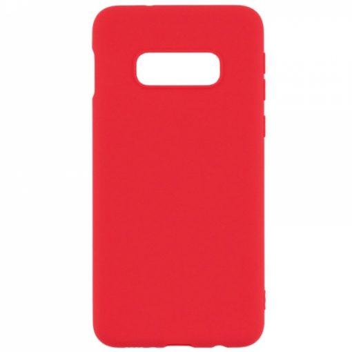 SERSAMS10LR_SENSO RUBBER SAMSUNG S10e red backcover
