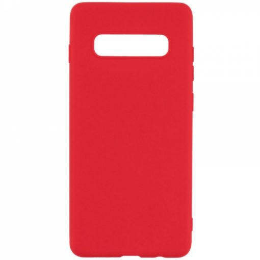 SERSAMS10R_SENSO RUBBER SAMSUNG S10 red backcover