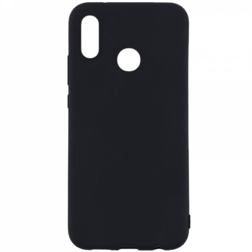 SESTHON8AB_SENSO SOFT TOUCH HUAWEI Y6 PRO 2019 / Y6s / HONOR 8A black backcover