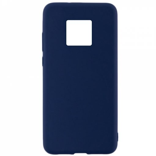SESTHUAM20PBL_SENSO SOFT TOUCH HUAWEI MATE 20 PRO blue backcover