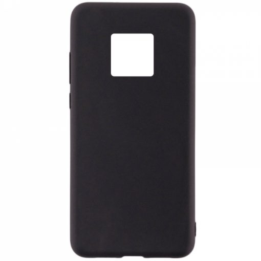 SESTHUAM20PB_SENSO SOFT TOUCH HUAWEI MATE 20 PRO black backcover