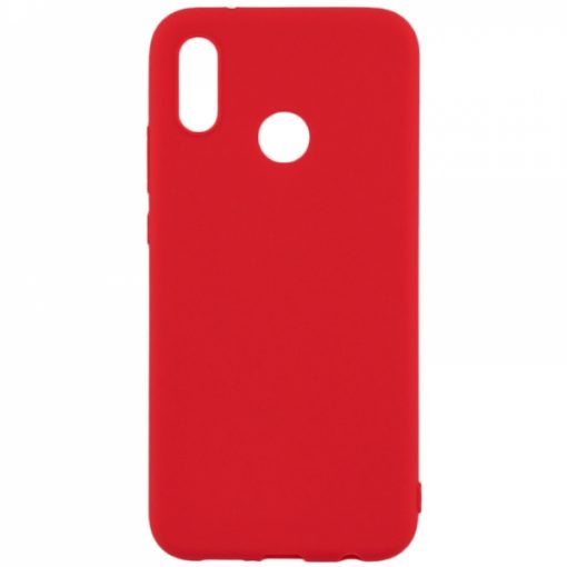 SESTHUAPS19R_SENSO SOFT TOUCH HUAWEI P SMART 2019 / HONOR 10 LITE  red backcover