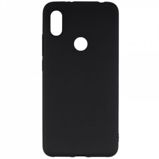 SESTHUAY519B_SENSO SOFT TOUCH HUAWEI Y5 2019 / HONOR 8S black backcover