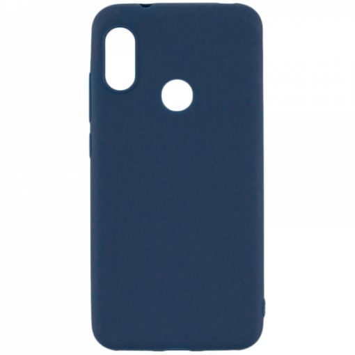 SESTHUAY719BL_SENSO SOFT TOUCH HUAWEI Y7 2019 blue backcover
