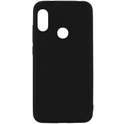 SESTHUAY719B_SENSO SOFT TOUCH HUAWEI Y7 2019 black backcover