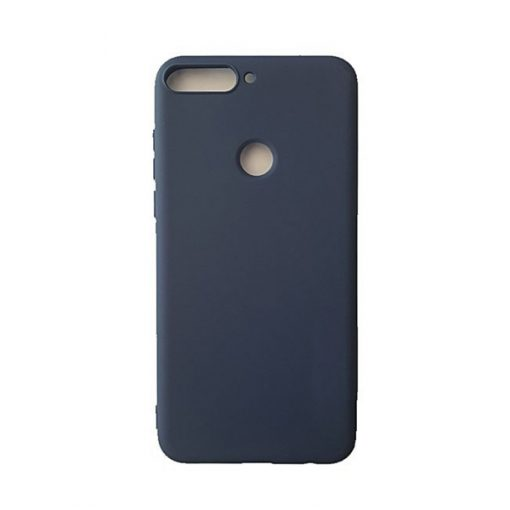 SESTHUAY7P18BL_SENSO SOFT TOUCH HUAWEI Y7 PRIME 2018 / HONOR 7C blue backcover