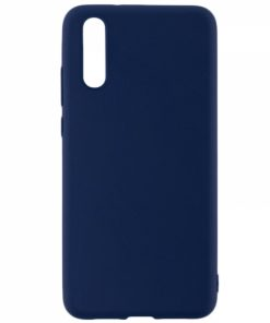 SESTHUAYM20BL_SENSO SOFT TOUCH HUAWEI MATE 20 blue backcover