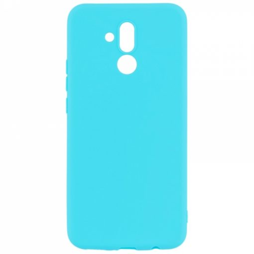 SESTHUAYM20LBL_SENSO SOFT TOUCH HUAWEI MATE 20 LITE blue backcover