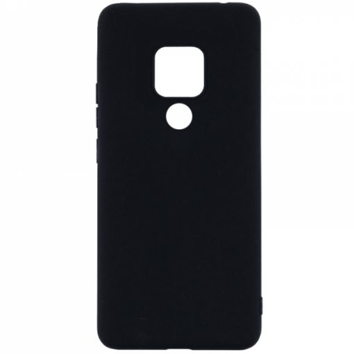 SESTHUAYM20XB_SENSO SOFT TOUCH HUAWEI MATE 20 X black backcover