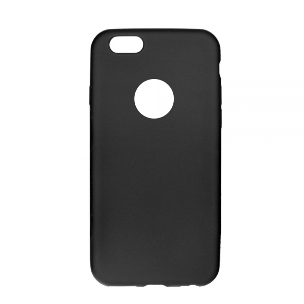 SESTIP8PB_SENSO SOFT TOUCH IPHONE 8 PLUS black backcover