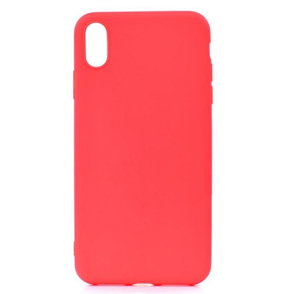 SESTIP9PR_SENSO SOFT TOUCH IPHONE XS MAX red backcover