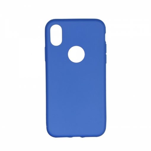 SESTIPXBL_SENSO SOFT TOUCH IPHONE X XS blue backcover