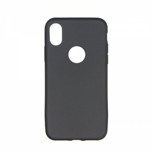 SESTIPXB_SENSO SOFT TOUCH IPHONE X XS black backcover