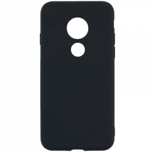 SESTMOTG7PLB_SENSO SOFT TOUCH MOTOROLA MOTO G7 PLUS black backcover