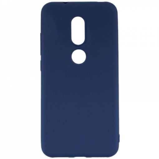 SESTNOKX6BL_SENSO SOFT TOUCH NOKIA X6 blue backcover