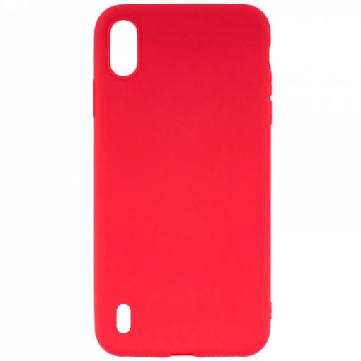 SESTSAMA10R_SENSO SOFT TOUCH SAMSUNG A10 red backcover