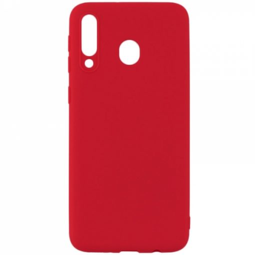 SESTSAMA40R_SENSO SOFT TOUCH SAMSUNG A40 red backcover