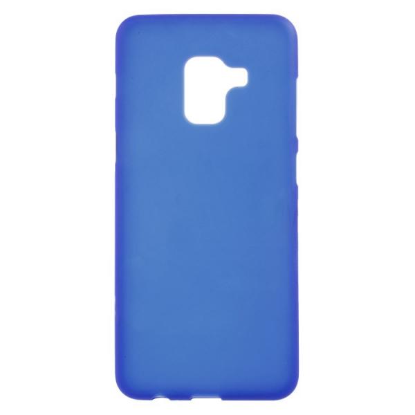 SESTSAMA518BL_SENSO SOFT TOUCH SAMSUNG A8 2018 blue backcover