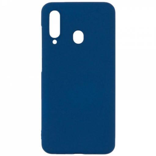 SESTSAMA60BL_SENSO SOFT TOUCH SAMSUNG A60 blue backcover