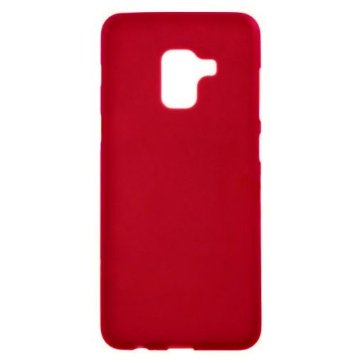SESTSAMA6R_SENSO SOFT TOUCH SAMSUNG A6 2018 red backcover