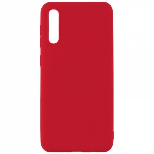 SESTSAMA70R_SENSO SOFT TOUCH SAMSUNG A70 red backcover