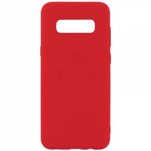 SESTSAMS10LR_SENSO SOFT TOUCH SAMSUNG S10e red backcover