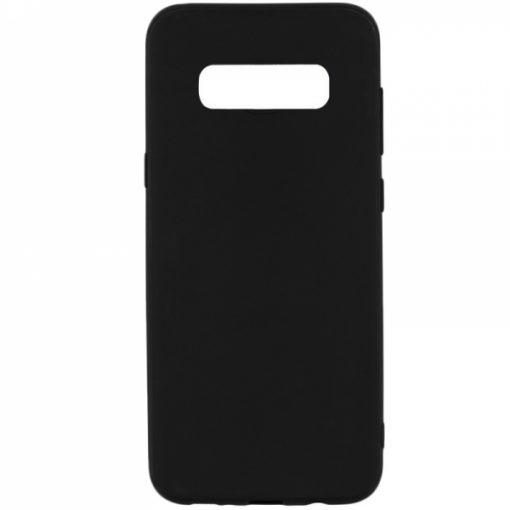 SESTSAMS10PB_SENSO SOFT TOUCH SAMSUNG S10 PLUS black backcover