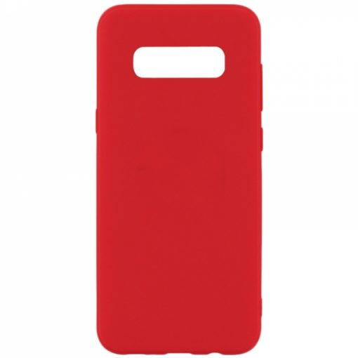 SESTSAMS10PR_SENSO SOFT TOUCH SAMSUNG S10 PLUS red backcover