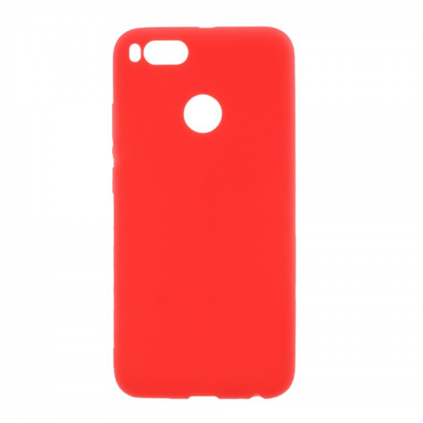 SESTXIAMIA1R_SENSO SOFT TOUCH XIAOMI Mi A1 red backcover