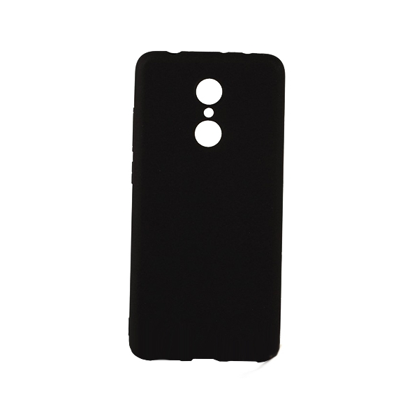 SESTXIAR5B_SENSO SOFT TOUCH XIAOMI REDMI 5 black backcover