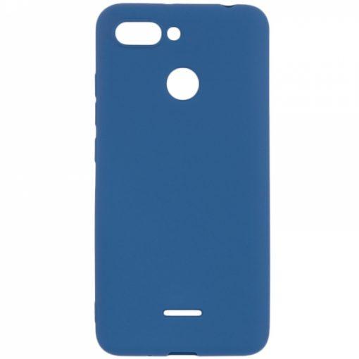 SESTXIAR6BL_SENSO SOFT TOUCH XIAOMI REDMI 6 blue backcover
