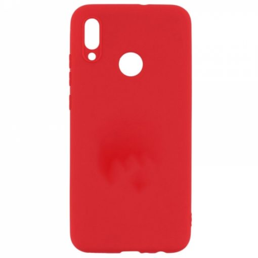 SESTXIAR7R_SENSO SOFT TOUCH XIAOMI REDMI 7 red backcover