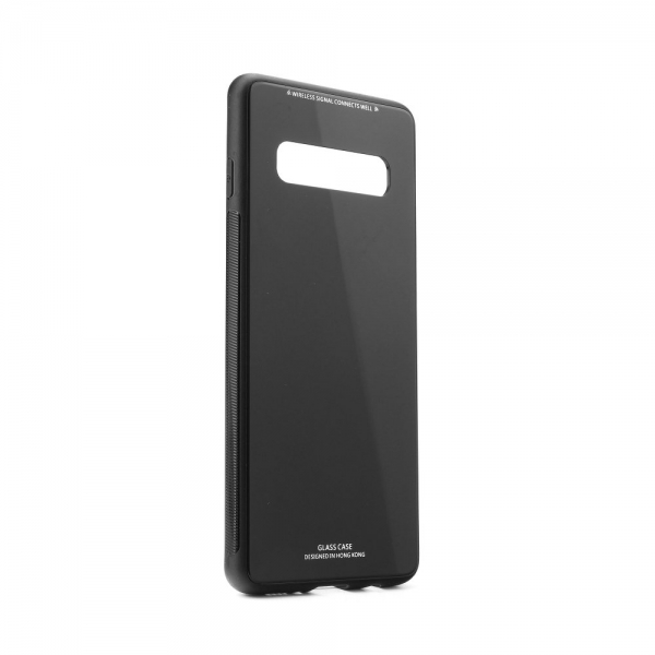SGCSAMS10B_SENSO GLASS CASE SAMSUNG S10 black backcover