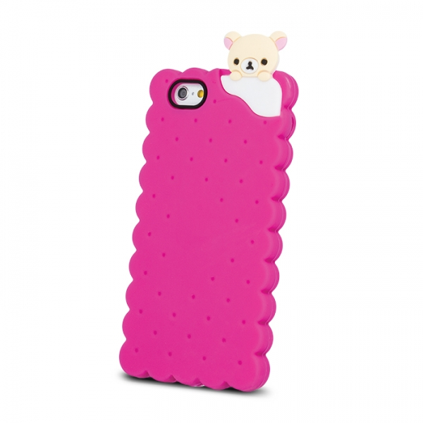 SPDBISCUIP7P_SPD TPU BISCUIT IPHONE 7 8 pink backcover
