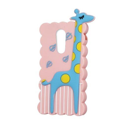 SPDGIR2LENK6NP_SPD TPU GIRAFFE 2 LENOVO K6 NOTE pink backcover
