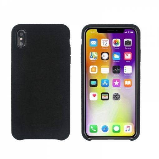 SSBKC0103_SO SEVEN SWEET GENTLEMAN MICROFIBER IPHONE XS MAX black backcover