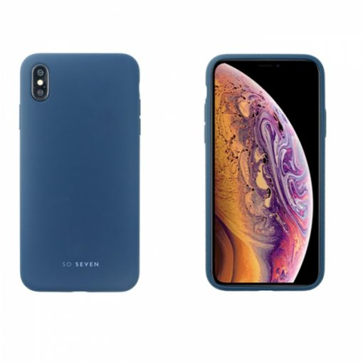 SSBKC0119_SO SEVEN SMOOTHIE IPHONE XS MAX blue backcover