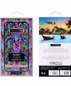 SSBKC0263_SO SEVEN PUCKET TROPICAL BLACK BUTTERFLY SAMSUNG S10 backcover