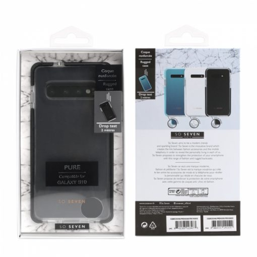 SSBKC0346_SO SEVEN RUGGED CASE PURE SAMSUNG S10 black backcover