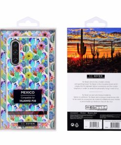 SSBKC0366_SO SEVEN MEXICO BLUE CACTUS HUAWEI P30 backcover